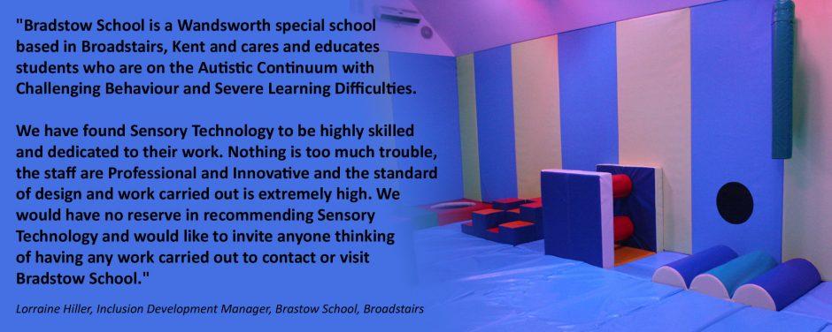 Bradstow School Interactive Sensory Soft Play Room Installation