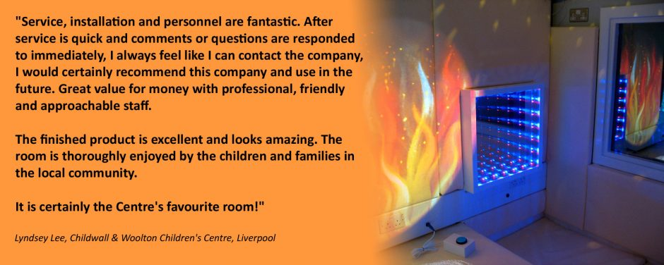 Multi Sensory Room Installtion at Chilwall and Woolton Childrens Centre