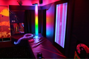 Dark Room - Sensory Room at Blackmarston School