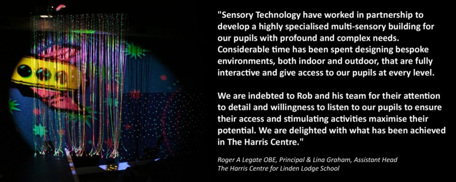 Testimonial from a happy Sensory Room Customer