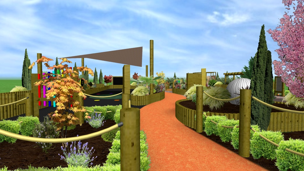 Sensory garden design by sensory technology for Gardens by design