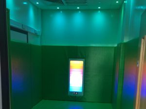 Sensory Serenity Wall and Floor Padding with Sensory Lighting