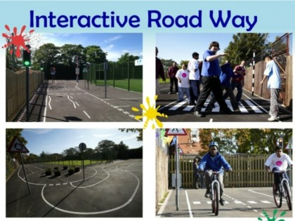 Sensory Street – The Interactive Roadway for Road Safety Learning