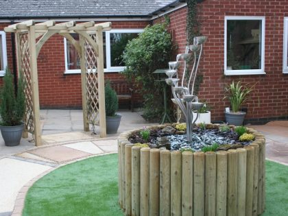 Age UK – Sensory Garden at Oadby and Wigston