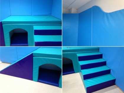 Soft Play Room installation South Wales, Carmarthenshire.
