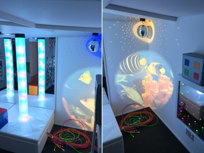 Dorset Sensory Room Installation – Chewton Common Playgroup
