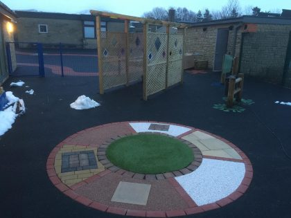 Sensory Garden at Peak School, Derbyshire