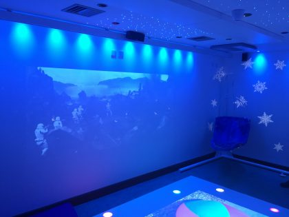 Sensory Room at Pickaquoy Centre, Kirkwall, Orkney