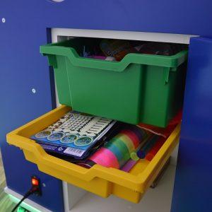 Portable Sensory Unit Storage