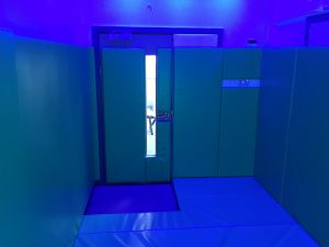 Floor and Wall Padding in Sensory Serenity Room
