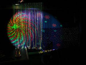 Sensory Dark Room for Visual Assessment