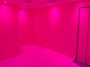 Sensory Lighting in a Sensory Serenity Calming Room