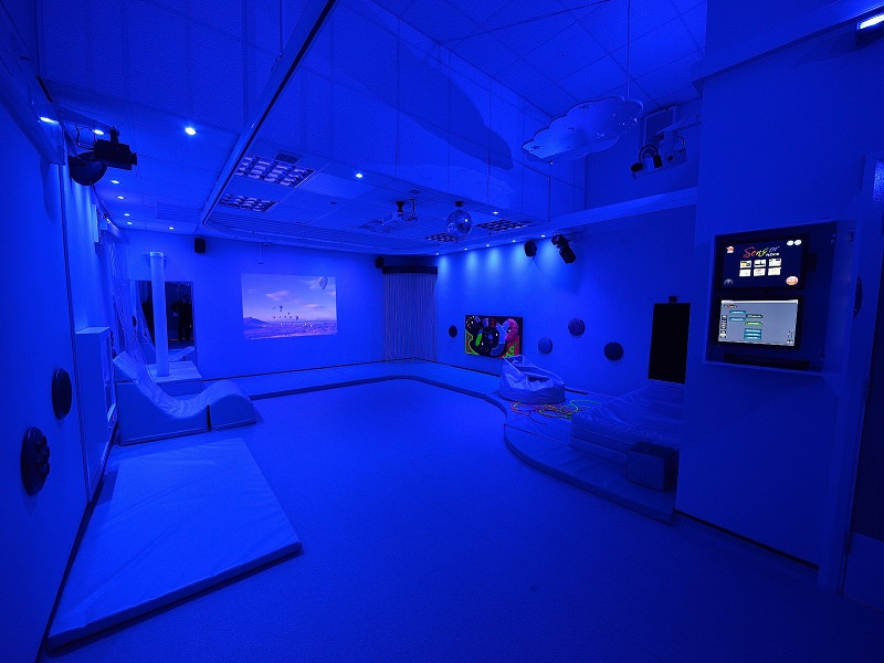 room mood lighting. Sensory Venue Mood Lighting And Video Projection - Room For Interactive Learning S