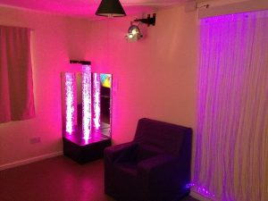 Small Sensory Room in Dementia Care Home