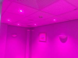 Safe Room with Mood Lighting