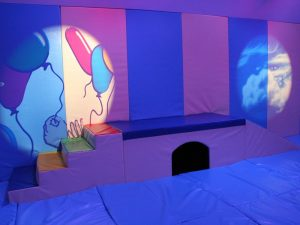 Interactive Sensory Lighting in a Soft Play Room