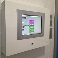 Touchscreen Sensory Pool Control