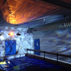 Sensory Pool With Ceiling Projection