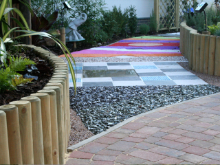 Sensory gardens and pathways